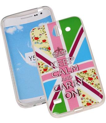 Keizerskroon TPU Cover Case voor Hoesje voor Huawei Y550