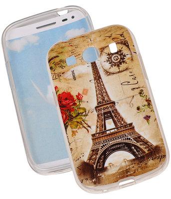 Eiffeltoren TPU Cover Case voor Hoesje voor Samsung Galaxy Ace Style G357