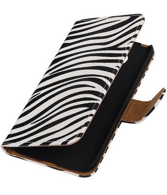 Zebra booktype cover voor Hoesje voor LG G5