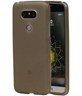 Hoesje voor LG G5 TPU Transparant Grijs