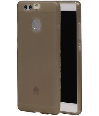 Hoesje voor Huawei P9 TPU Transparant Grijs