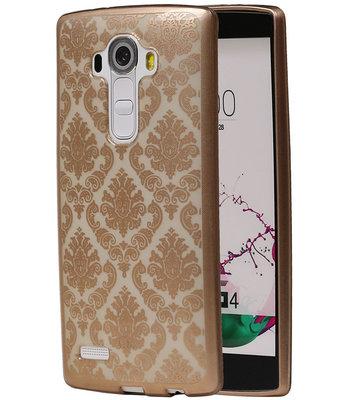 Goud Brocant TPU back case cover voor Hoesje voor LG G4
