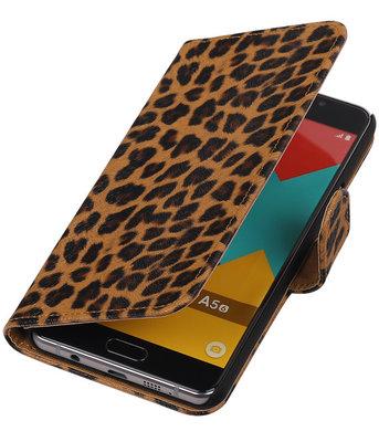 Luipaard booktype cover voor Hoesje voor Huawei P9
