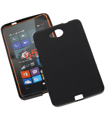 Hoesje voor Microsoft Lumia 650 TPU Zwart