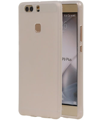 Hoesje voor Huawei P9 Plus TPU Transparant Wit