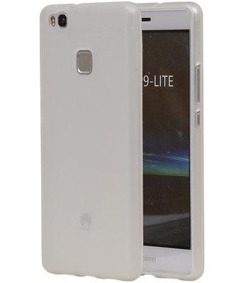 Hoesje voor Huawei P9 Lite TPU Transparant Wit