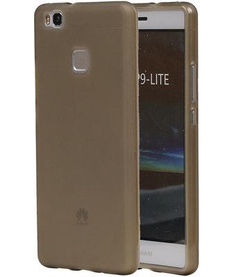 Hoesje voor Huawei P9 Lite TPU Transparant Grijs