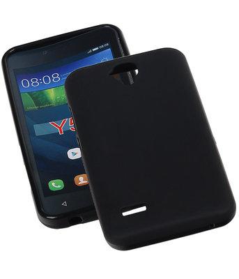 Hoesje voor Huawei Y560 / Y5 TPU Zwart