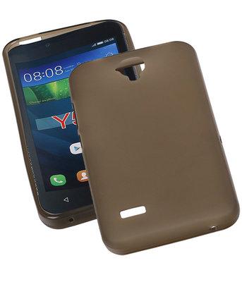 Hoesje voor Huawei Y560 / Y5 TPU Transparant Grijs