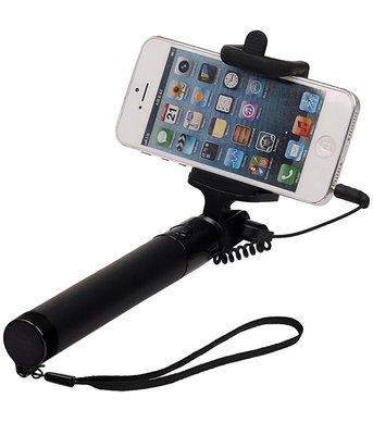 Zwart Selfie Stick 78cm zonder batterijen