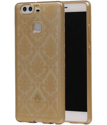 Goud Brocant TPU back case cover voor Hoesje voor Huawei P9