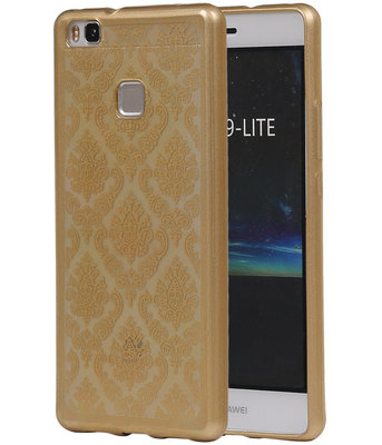 Goud Brocant TPU back case cover voor Hoesje voor Huawei P9 Lite