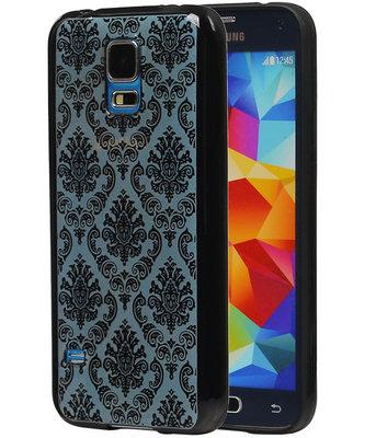 Zwart Brocant TPU back case cover voor Hoesje voor Samsung Galaxy S5