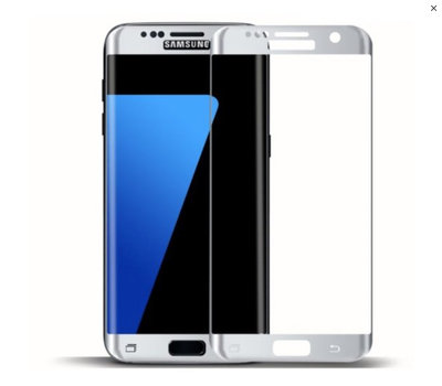 Wit Samsung Galaxy S7 Edge Tempered Glass Screen Protector