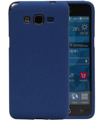 Blauw Zand TPU back case cover voor Hoesje voor Samsung Galaxy Grand Prime