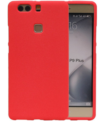 Rood Zand TPU back case cover voor Hoesje voor Huawei P9 Plus