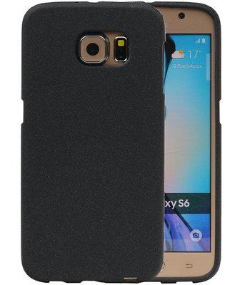 Zwart Zand TPU back case cover voor Hoesje voor Samsung Galaxy S6