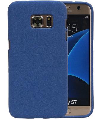 Blauw Zand TPU back case cover hoesje voor Samsung Galaxy S7