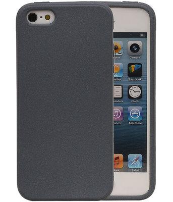 Grijs Zand TPU back case cover voor Hoesje voor Apple iPhone 5 / 5s / SE