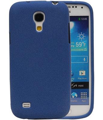Blauw Zand TPU back case cover voor Hoesje voor Samsung Galaxy S4 mini I9190