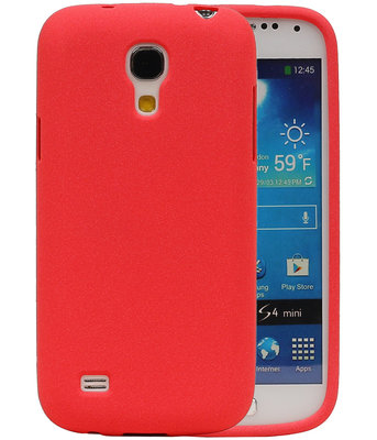 Rood Zand TPU back case cover voor Hoesje voor Samsung Galaxy S4 mini I9190