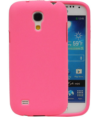 Roze Zand TPU back case cover voor Hoesje voor Samsung Galaxy S4 mini I9190