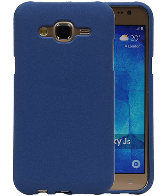 Blauw Zand TPU back case cover hoesje voor Samsung Galaxy J5 2015