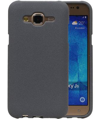 Grijs Zand TPU back case cover voor Hoesje voor Samsung Galaxy J5 2015