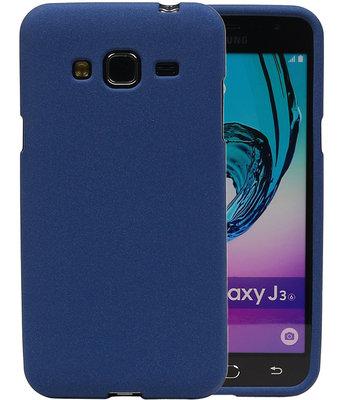 Blauw Zand TPU back case cover hoesje voor Samsung Galaxy J3