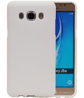 Wit Zand TPU back case cover voor Hoesje voor Samsung Galaxy J5 2016