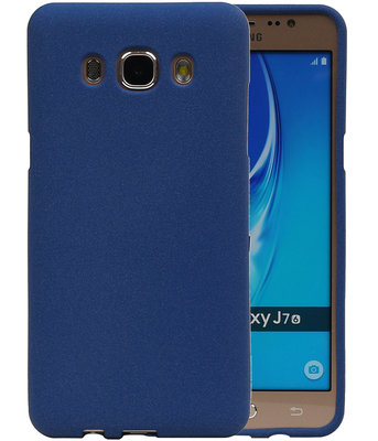 Blauw Zand TPU back case cover hoesje voor Samsung Galaxy J7 2016