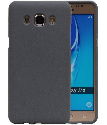 Grijs Zand TPU back case cover voor Hoesje voor Samsung Galaxy J7 2016
