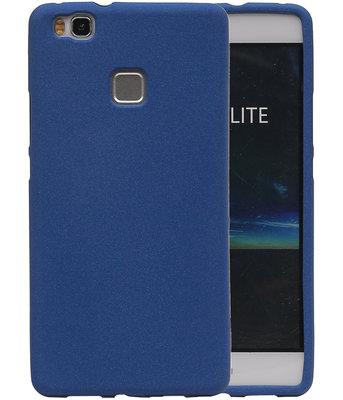 Blauw Zand TPU back case cover voor Hoesje voor Huawei P9 Lite