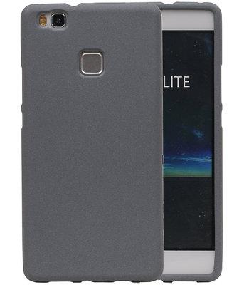 Grijs Zand TPU back case cover voor Hoesje voor Huawei P9 Lite