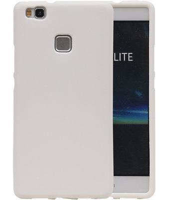 Wit Zand TPU back case cover voor Hoesje voor Huawei P9 Lite