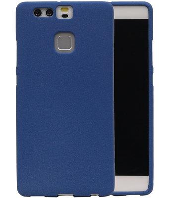 Blauw Zand TPU back case cover voor Hoesje voor Huawei P9
