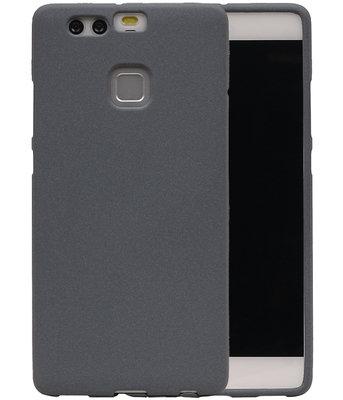 Grijs Zand TPU back case cover voor Hoesje voor Huawei P9
