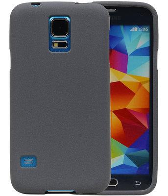 Grijs Zand TPU back case cover voor Hoesje voor Samsung Galaxy S5