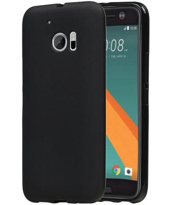 Hoesje voor HTC 10 TPU Back Cover Zwart