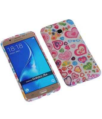 Kiss TPU back case cover voor Hoesje voor Samsung Galaxy J5 2016
