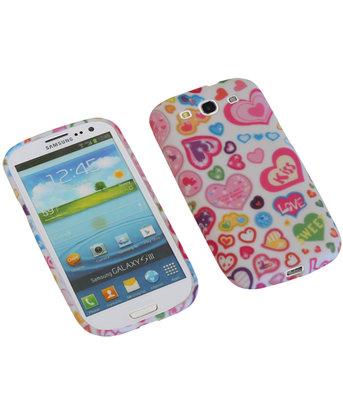 Kiss TPU back case cover voor Hoesje voor Samsung Galaxy S3 I9300