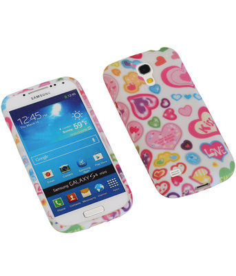 Kiss TPU back case cover voor Hoesje voor Samsung Galaxy S4 Mini I9190