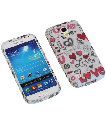 Love TPU back case cover voor Hoesje voor Samsung Galaxy S4 Mini I9190
