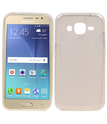 Hoesje voor Samsung Galaxy J2 2015 Cover Transparant