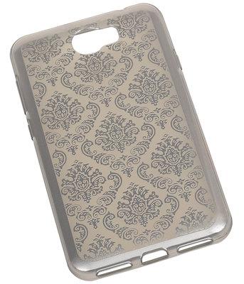Zilver Brocant TPU back case cover voor Hoesje voor Huawei Y6 II Compact