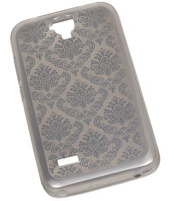 Zilver Brocant TPU back case cover voor Hoesje voor Huawei Y560 / Y5