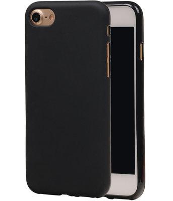 Apple iPhone 7 / 8 TPU Hoesje Zwart
