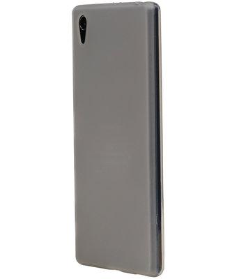 Hoesje voor Sony Xperia XZ / XZs TPU Transparant Wit