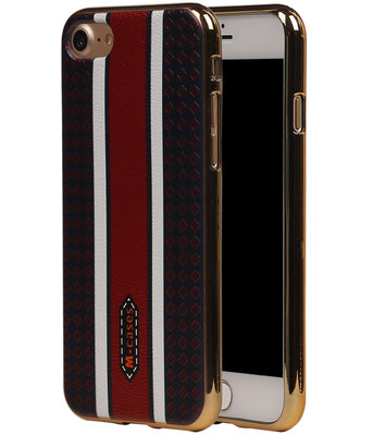 M-Cases Bruin Ruit Design TPU back case voor Hoesje voor Apple iPhone 7 / 8