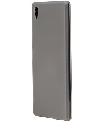 Huawei Y6 II Compact TPU Hoesje Transparant Wit